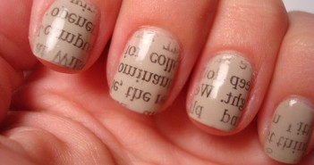 design-fetish-newspaper-nails