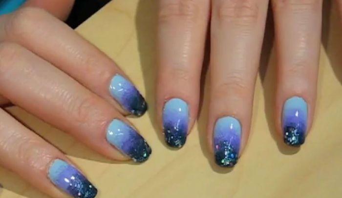 Gradacija boja na noktima