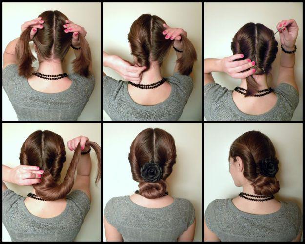 Деловая прическа своими руками на длинные волосы