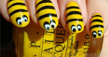 Bee-Nail-Art-Tutorial-Swatch