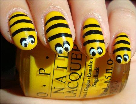 Pcelice na noktima