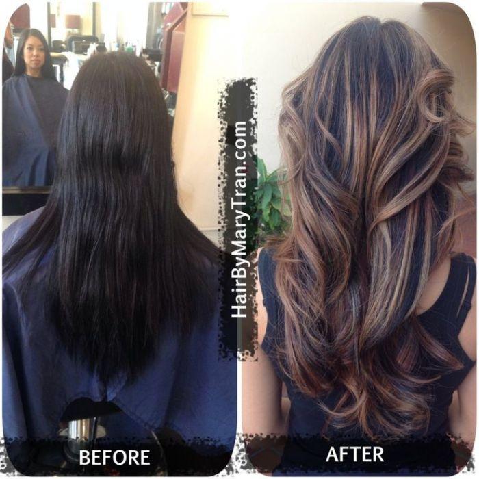 DIY Ombre Hair Tutorial  Talk For Dark Brown And Black Hair  shewearsfashion